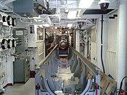 RIM-8 Talos conveyor in the USS Little Rock