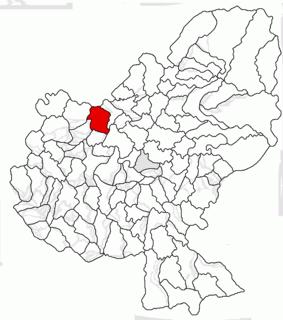 Râciu Commune in Mureș, Romania