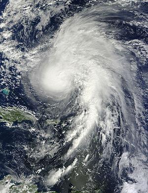 Hurricane Rafael - Image: Rafael Oct 15 2012 1450Z