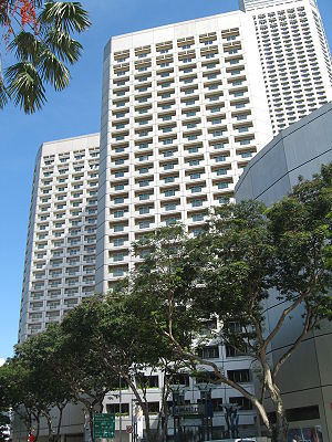 Fairmont Singapore - Image: Raffles The Plaza