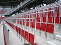 Rail seats in Klagenfurt, Austria.JPG