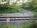 Railway crossing near Calvert - geograph.org.uk - 502391.jpg