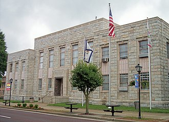 National Register of Historic Places listings in Raleigh County, West Virginia - Image: Raleigh County Courthouse Beckley
