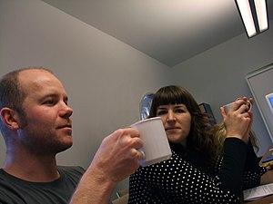 Ramon Stoppelenburg - Ramon Stoppelenburg and Corrie Gerritsma on the jury of the Dutch Bloggies 2008