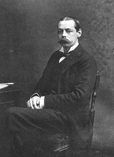 Lord Randolph Churchill British politician