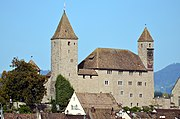Rapperswil - Altstadt - Schloss - Holzbrücke 2012-10-05 15-14-17.JPG