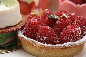 Raspberry tart, 2008.