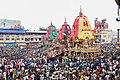 Rathas on Badadanda, Puri during Ratha Jatra 2019.jpg