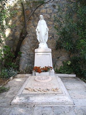 Marie-Alphonse Ratisbonne - Marie-Alphonse Ratisbonne's tomb in Ein Karem
