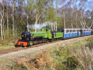 Ravenglass and Eskdale Railway Heritage railway in Cumbria, England