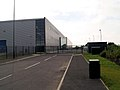 Rear of new factory unit. - geograph.org.uk - 498954.jpg