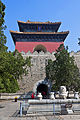 Rear tower at Changling tomb, Beijing.jpg