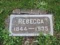 Rebecca, Lone Fir Cemetery, May 2012.JPG