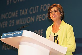 Rebecca Pow - Pow speaking at the 2014 Conservative Party Conference
