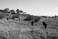 Reconstruction of a battle near the Kibbutz Yad Mordechai 2 שחזור של קרב ליד קיבוץ יד מרדכי.jpg