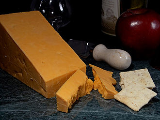 Red Leicester cheese Red Leicester.jpg