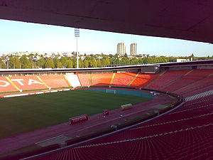 Red Star Stadium - South stand