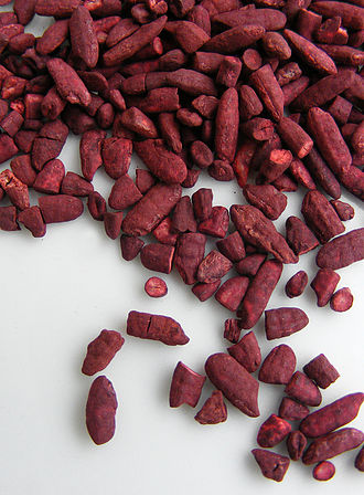 Medicinal fungi - The red yeast rice fungus, Monascus purpureus, can synthesize three statins.
