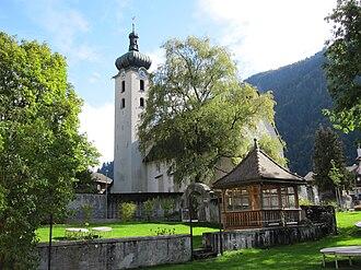 Schiers - Image: Reformierte Kirche Schiers 20