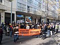 Refugee-rights rally outside Bank of Queensland.JPG