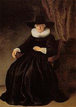 Rembrandt, Portrait of Maria Bockenolle, 1634, Museum of Fine Arts, Boston.jpg
