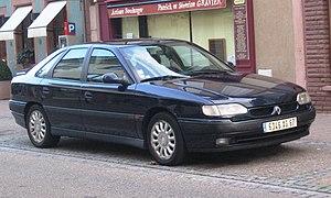 Renault Safrane - Image: Renault Safrane a Wissembourg