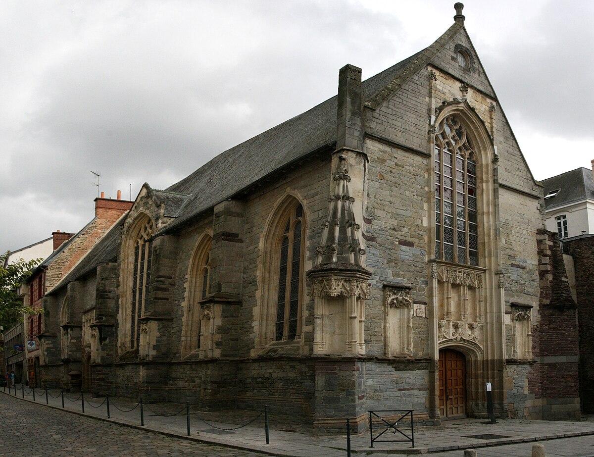 Chapelle saint yves rennes wikip dia - Office notarial la chapelle des fougeretz ...