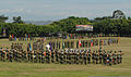 Representatives of 21 nations' special operations forces teams line up on the parade field June 6, 2012, during the opening ceremony for Fuerzas Comando at the Colombian National Training Center, Fort 120606-A-GO008-004.jpg
