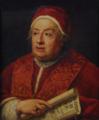 Retrato do Papa Clemente XIII (séc. XVIII) - Escola Romana (Casa dos Patudos - Museu de Alpiarça, Inv. Nº 84.1279).png