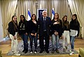 Reuven Rivlin at a meeting with the activists of the Instagram page «Otef.gaza». November 2018 (2417).jpg