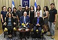 Reuven Rivlin met with the winners of the Van Leer Prize for outstanding humanities thesis for the year 2016-2017 (2460).jpg