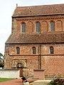 Rheinmünster, Klosterkirche Schwarzach, Langhaus und südliches Seitenschiff, Teilansicht von Süden.jpg