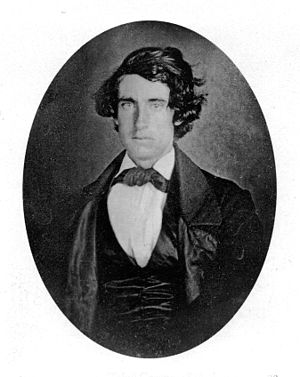 Herman Melville - Richard Tobias Greene, who jumped ship with Melville in the Marquesas Islands and is Toby in Typee, pictured in 1846