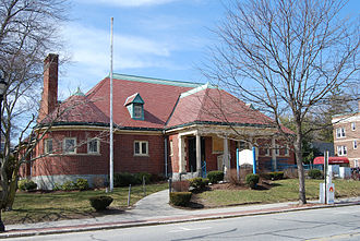 North Attleborough, Massachusetts - Richards Memorial Library, 2009