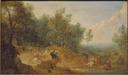 Riders attacked at a Ford (Adam Frans van der Meulen) - Nationalmuseum - 17516.tif