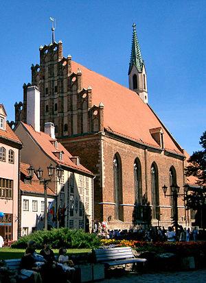 St. John's Church, Riga - Image: Riga johanneskirche 133731389 crop rotate