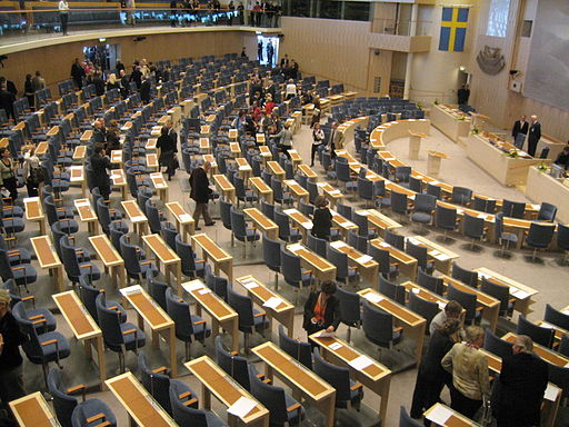 Riksdag assembly hall 2006