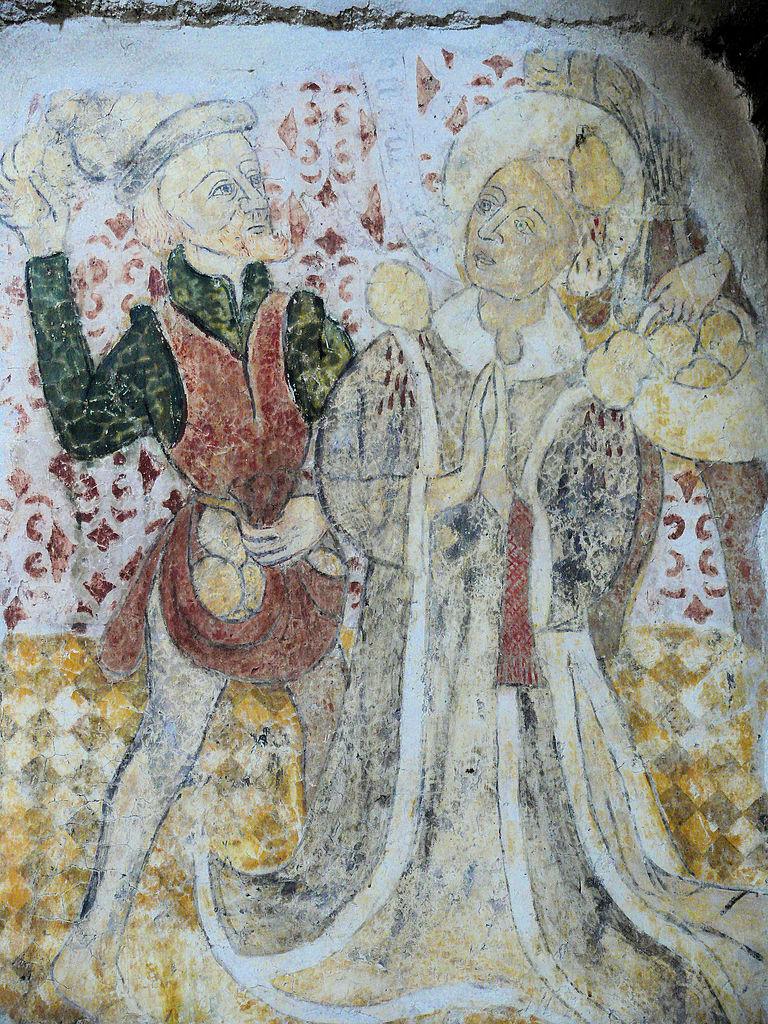 File ris eglise prieurale peinture murale for Differents types de peinture murale