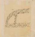 Ritning-Akterspegelsornament, Akterspegel - Sjöhistoriska museet - SB 1394-b.tiff