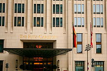 Innenarchitekturbüro Berlin the ritz carlton berlin