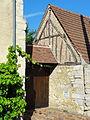 Rivecourt (60), pignon à colombages, rue de la Mairie 1.JPG