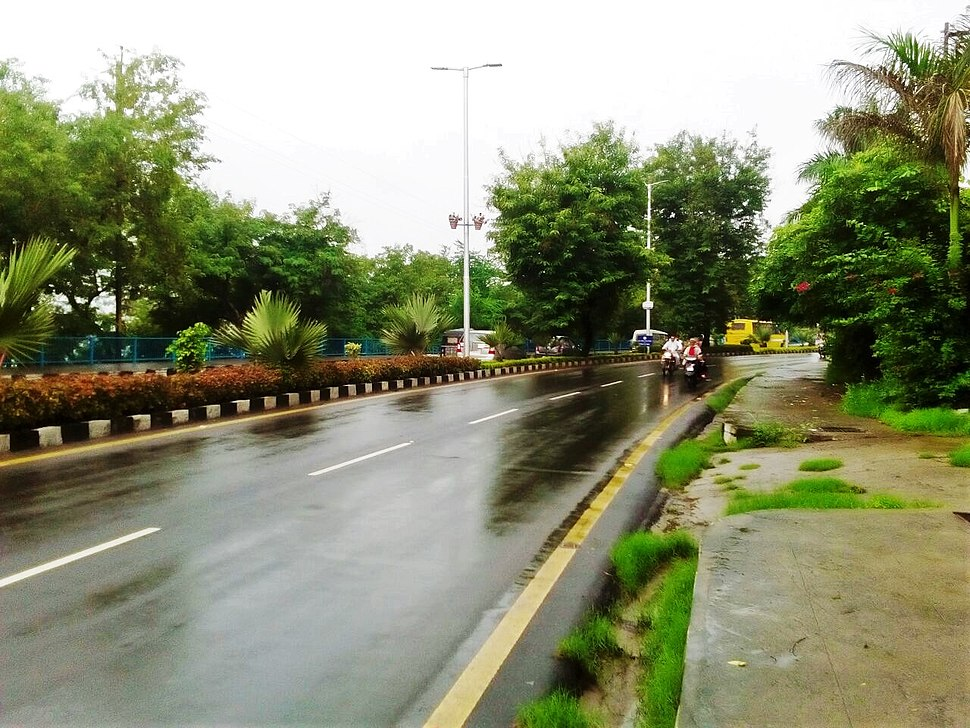 Road in Bhopal