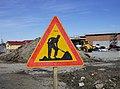 Roadwork road sign 20190415.jpg