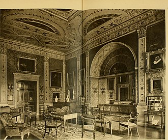 Lansdowne House - Image: Robert Adam and his brothers; their lives, work and influence on English architecture, decoration and furniture (1915) (14773243271)