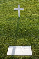 Robert F. Kennedy grave in Arlington National Cemetery.jpg