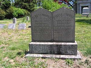 Havell family - The gravesite of Robert Havell Jr.