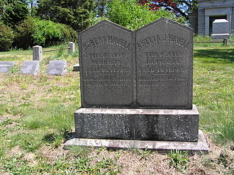 Havell family - The gravesite of Robert Havell Jr.