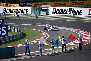 2009 Hungarian Grand Prix - Robert Kubica failed to make it out of the first part of qualifying.