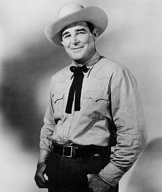 Rod Cameron (actor) - Cameron as Rod Blake in State Trooper, 1957.