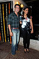 Rohit roy neelam Bollywood & TV actors at Ekta Kapoor's birthday bash.jpg